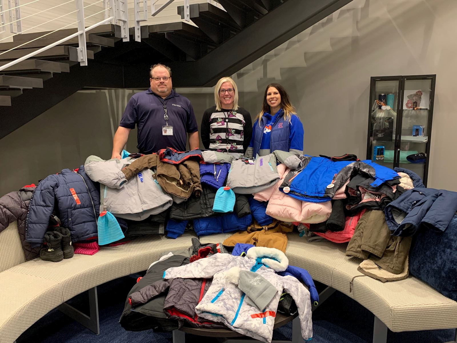 Employees Support Local Coat Drive thumbnail