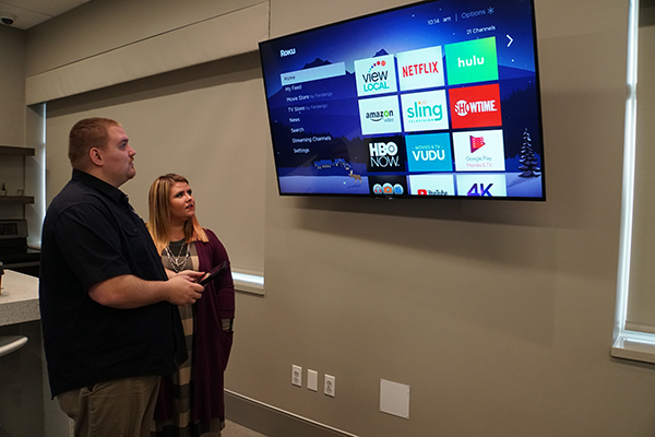 Learn about streaming video and TV in our smart home